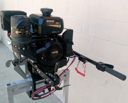 7 Hp Surface Drive Outboard Mud Motor