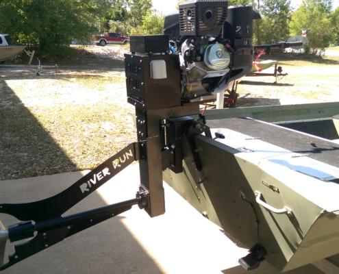 14 HP Surface Drive Outboard Mud Motor - RiverRunMarine