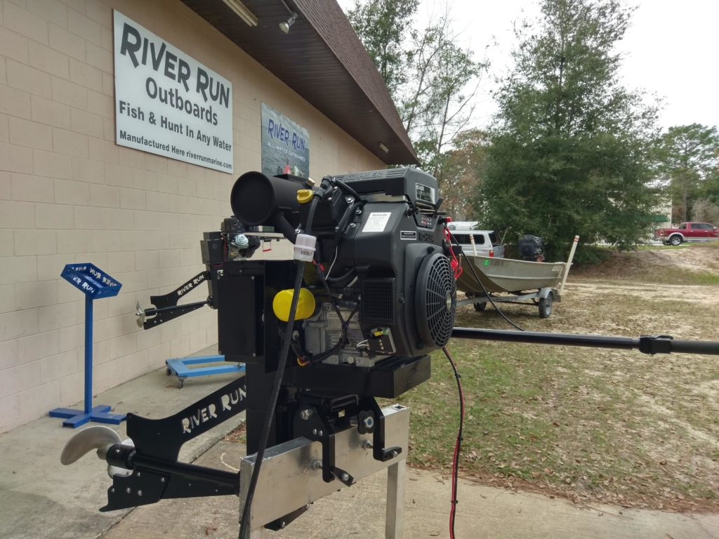 25 HP Surface Drive Outboard - RiverRunMarine